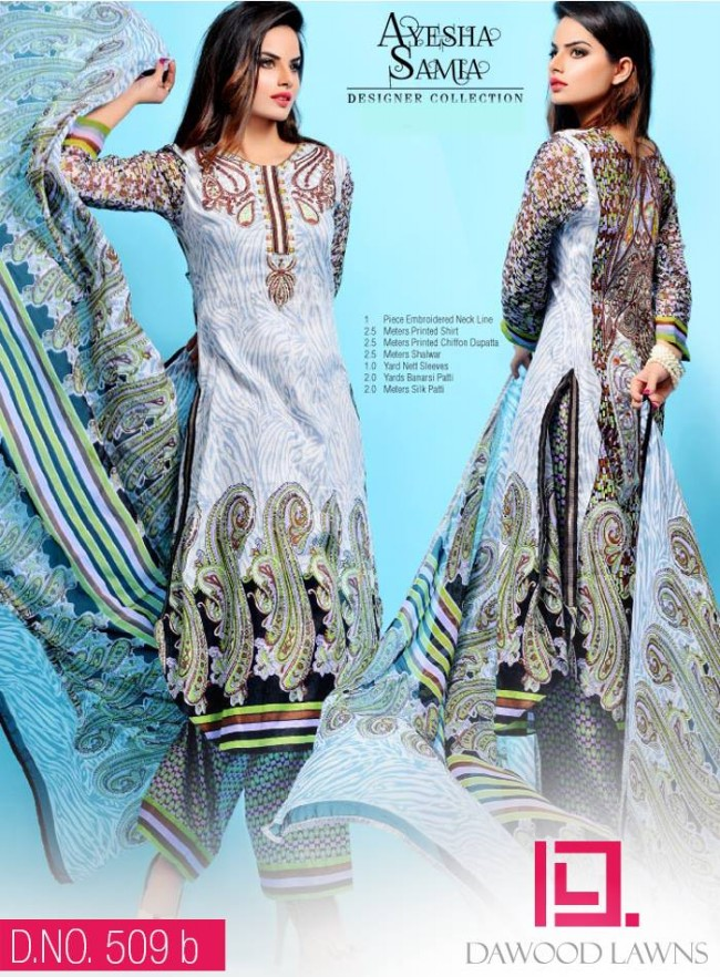 Womens-Girl-Wear-Beautiful-New-Fashion-Embroidered-Suits-by-Dawood-Lawn-Dress-19