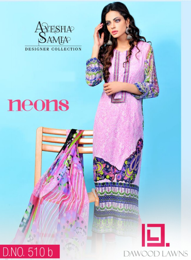 Womens-Girl-Wear-Beautiful-New-Fashion-Embroidered-Suits-by-Dawood-Lawn-Dress-2