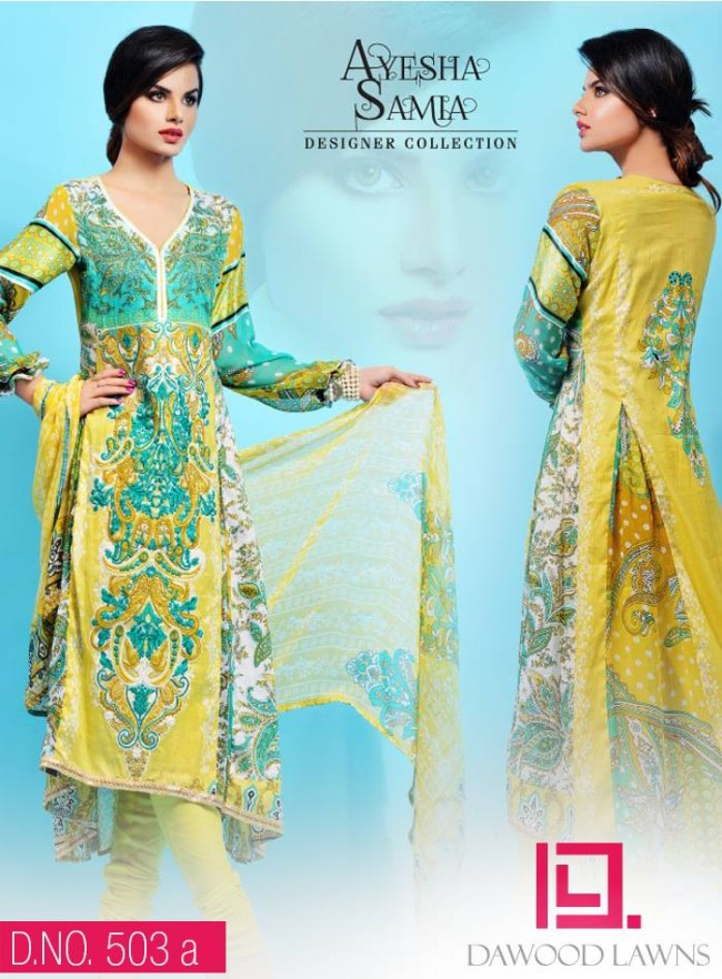 Womens-Girl-Wear-Beautiful-New-Fashion-Embroidered-Suits-by-Dawood-Lawn-Dress-3