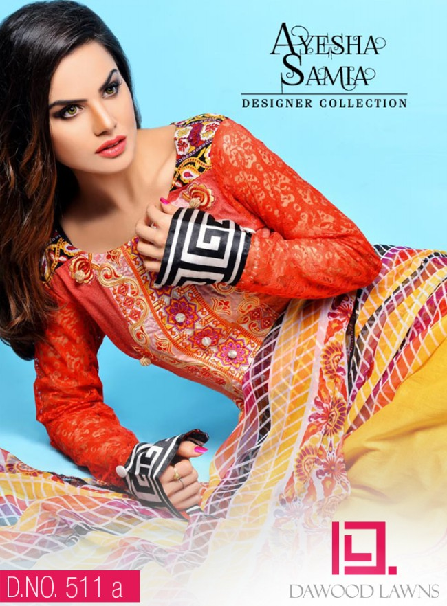 Womens-Girl-Wear-Beautiful-New-Fashion-Embroidered-Suits-by-Dawood-Lawn-Dress-4