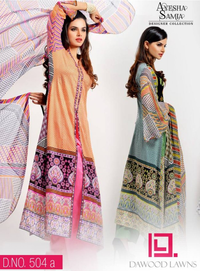 Womens-Girl-Wear-Beautiful-New-Fashion-Embroidered-Suits-by-Dawood-Lawn-Dress-5