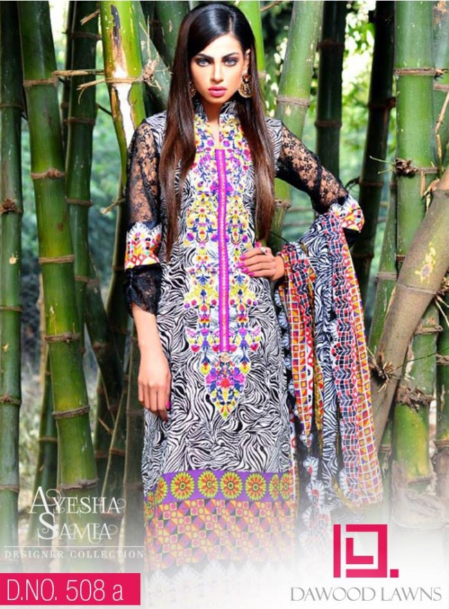 Womens-Girl-Wear-Beautiful-New-Fashion-Embroidered-Suits-by-Dawood-Lawn-Dress-7