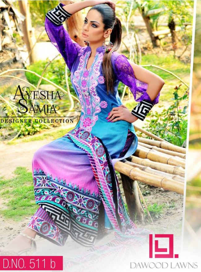 Womens-Girl-Wear-Beautiful-New-Fashion-Embroidered-Suits-by-Dawood-Lawn-Dress-9