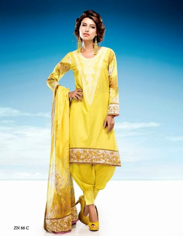 Womens-Girl-Wear-Beautiful-Zari-Net-Fancifull-New-Fashion-Lawn-Dress-by-Five-Star-Textile-10
