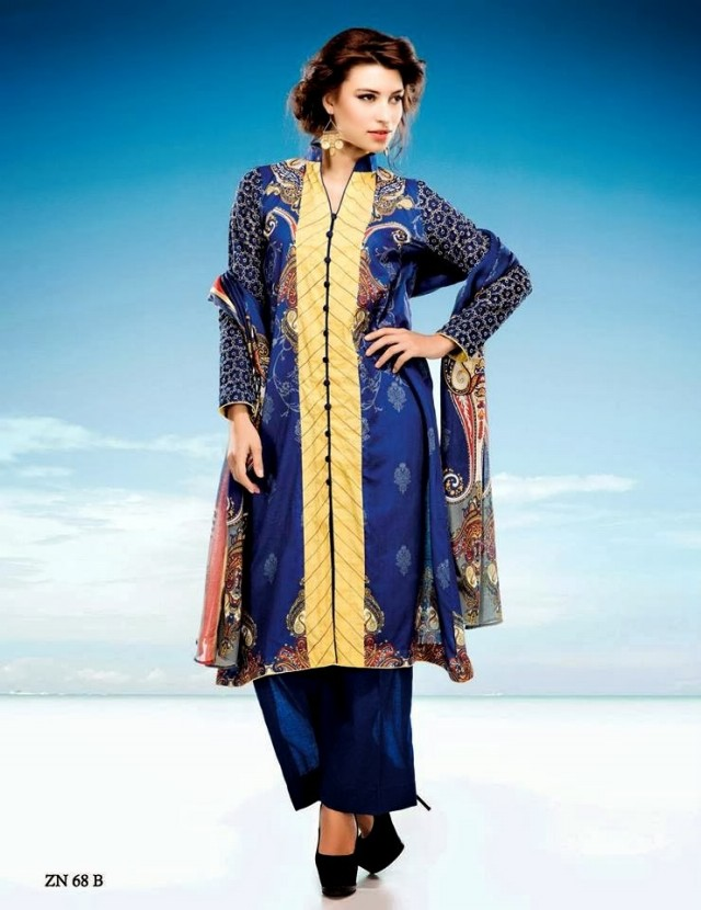 Womens-Girl-Wear-Beautiful-Zari-Net-Fancifull-New-Fashion-Lawn-Dress-by-Five-Star-Textile-11