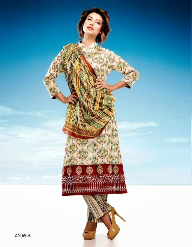 Womens-Girl-Wear-Beautiful-Zari-Net-Fancifull-New-Fashion-Lawn-Dress-by-Five-Star-Textile-14