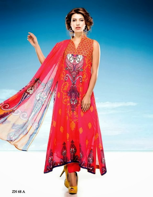 Womens-Girl-Wear-Beautiful-Zari-Net-Fancifull-New-Fashion-Lawn-Dress-by-Five-Star-Textile-2
