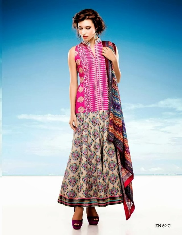 Womens-Girl-Wear-Beautiful-Zari-Net-Fancifull-New-Fashion-Lawn-Dress-by-Five-Star-Textile-5