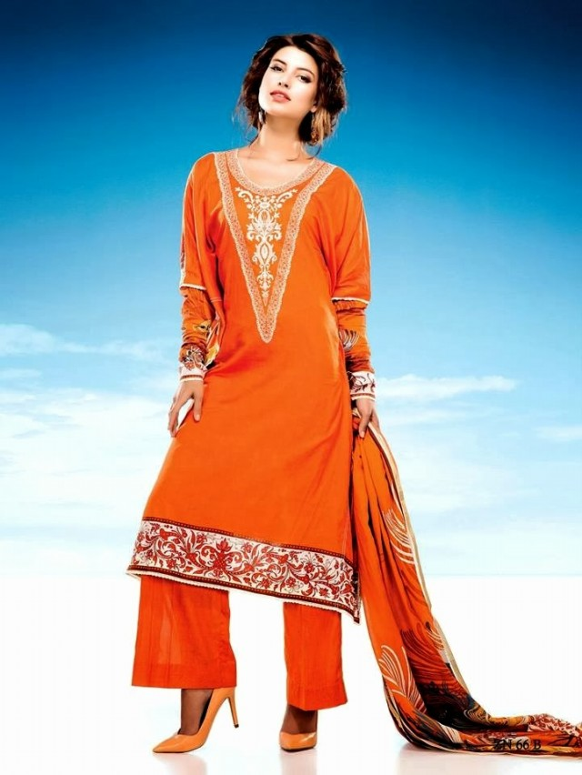 Womens-Girl-Wear-Beautiful-Zari-Net-Fancifull-New-Fashion-Lawn-Dress-by-Five-Star-Textile-7