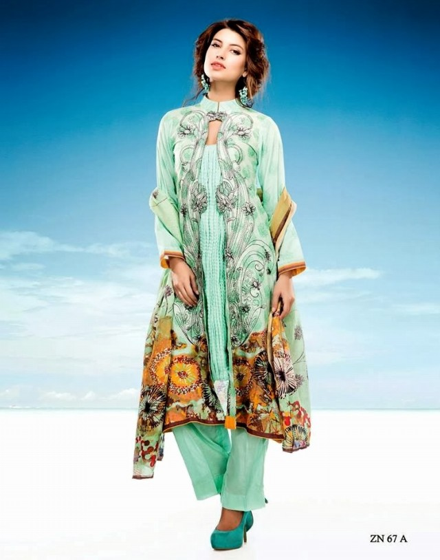 Womens-Girl-Wear-Beautiful-Zari-Net-Fancifull-New-Fashion-Lawn-Dress-by-Five-Star-Textile-8