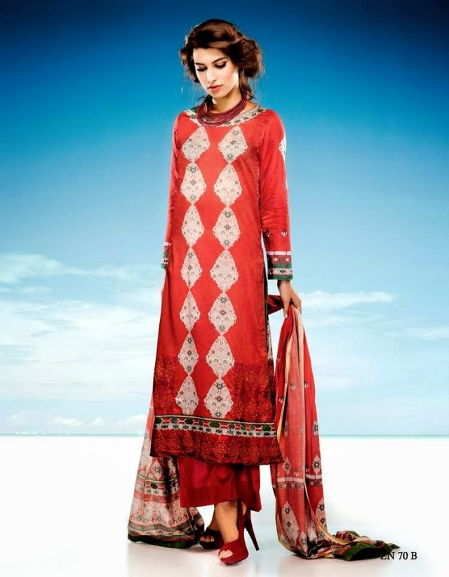 Womens-Girl-Wear-Beautiful-Zari-Net-Fancifull-New-Fashion-Lawn-Dress-by-Five-Star-Textile-9