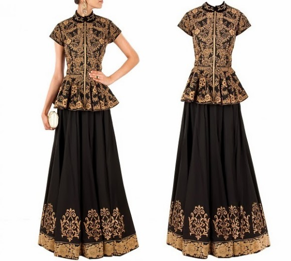 Anarkali-Wedding-Bridal-Frock-Suits-New-Fashion-Girls-Outfits-by-Designer-Gaurav-Gupta's-J-by-Jannat-1