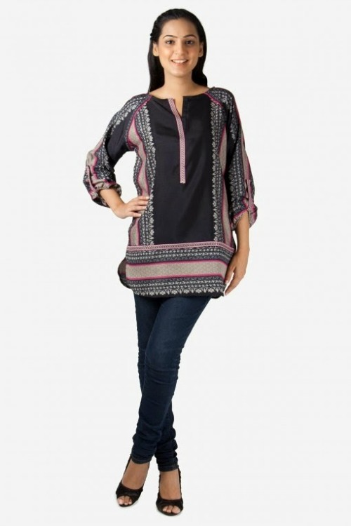 Girls-Wear-Beautiful-Pret-Western-Tops-Shorts-Kurta-Tights-Outfits-New-Fashion-Dress-By-Khaadi-11