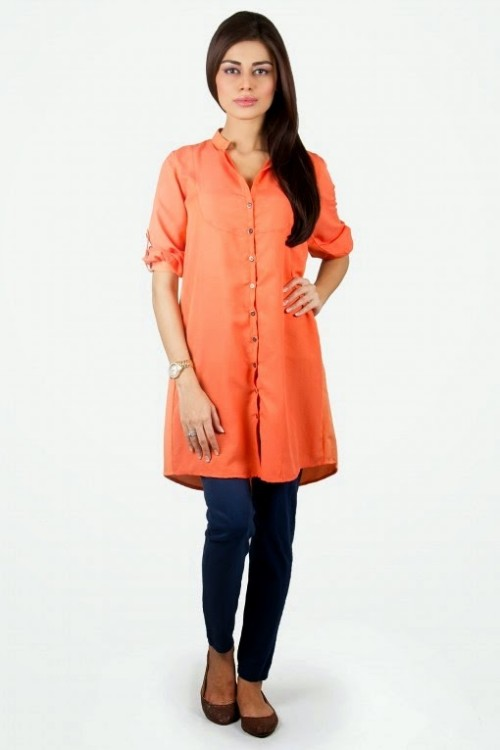 Girls-Wear-Beautiful-Pret-Western-Tops-Shorts-Kurta-Tights-Outfits-New-Fashion-Dress-By-Khaadi-6