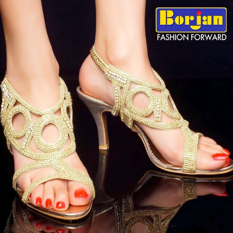 Wedding-Bridal-Brides-Footwear-Summer-New-Fashion-Shoes-for-Beautiful-Girls-by-Borjan-3
