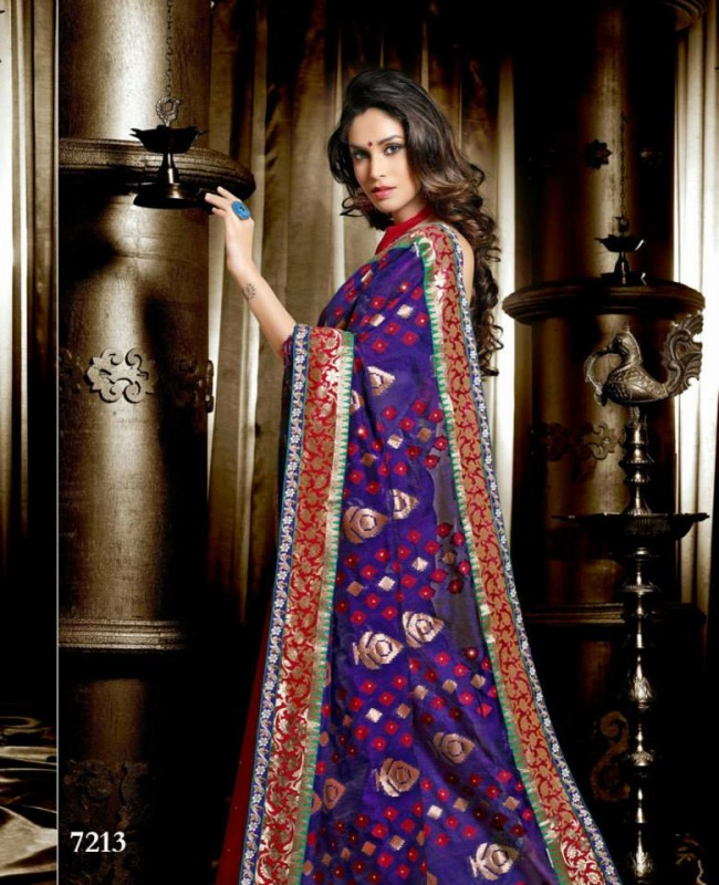 Wedding-Bridals-Indian-Printed-Colorful-Garnet-Red-Sarees-New-Fashion-Sari-Dress-for-Girls-Women-19