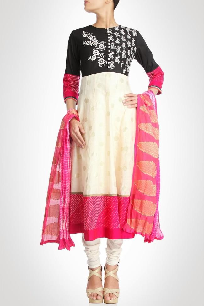 Anarkali-Churidar-Shalwar-Kamiz-New-Fashion-Style-Frock-Suits-by-Designer-Debashri-Samanta-2