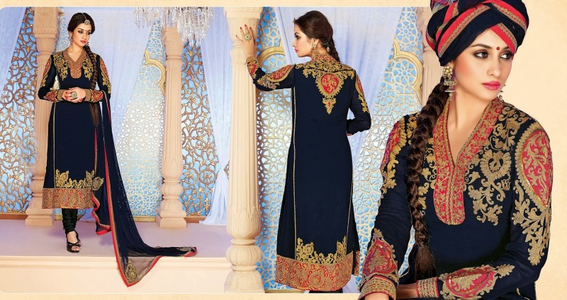 Beautiful-Girls-Wear-Long-Fancy-Anarkali-Churidar-Salwar-Suits-New-Fashion-Dress-3