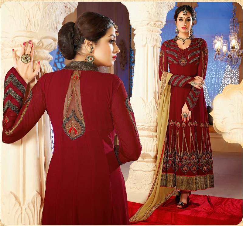 Beautiful-Girls-Wear-Long-Fancy-Anarkali-Churidar-Salwar-Suits-New-Fashion-Dress-7