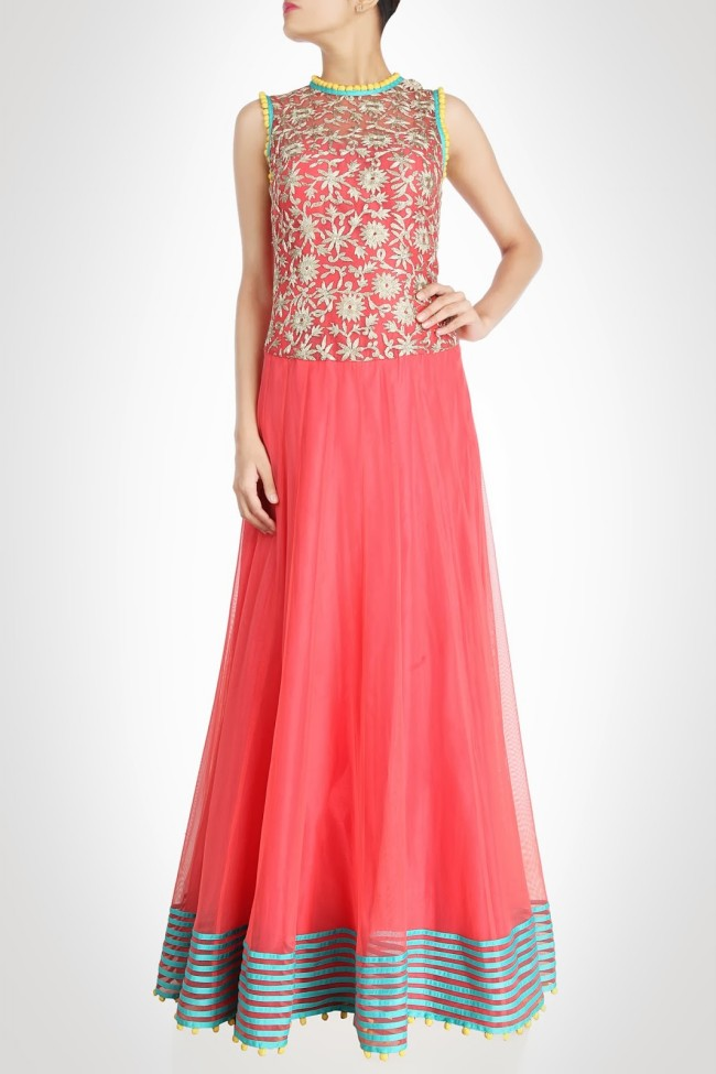 Beautiful-Girls-Wear-New-Designers-Indian-Western-Style-Prom-Bridesmaid-Gown-Dresses-6