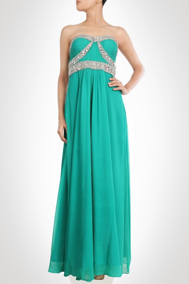 Beautiful-Girls-Wear-New-Designers-Indian-Western-Style-Prom-Bridesmaid-Gown-Dresses-9