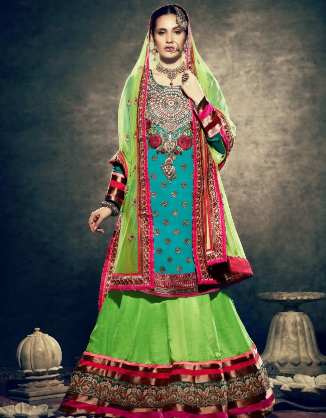 Beautiful-Wedding-Wear-New-Fashion-Suits-Dress-for-Cute-Girls-by-Nihaal-Bridal-Outfits-3