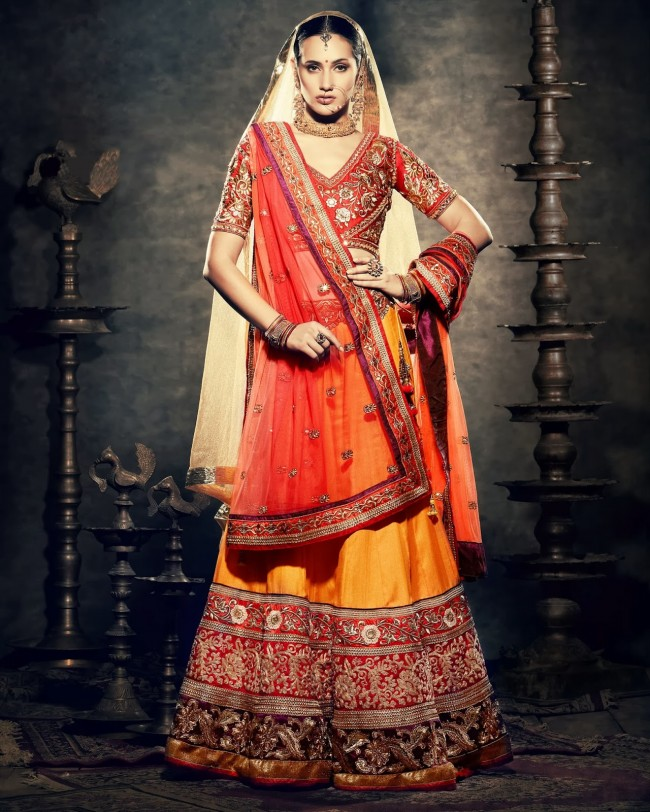 Beautiful-Wedding-Wear-New-Fashion-Suits-Dress-for-Cute-Girls-by-Nihaal-Bridal-Outfits-5