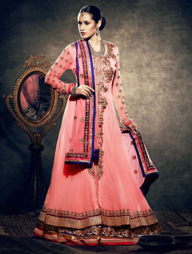 Beautiful-Wedding-Wear-New-Fashion-Suits-Dress-for-Cute-Girls-by-Nihaal-Bridal-Outfits-
