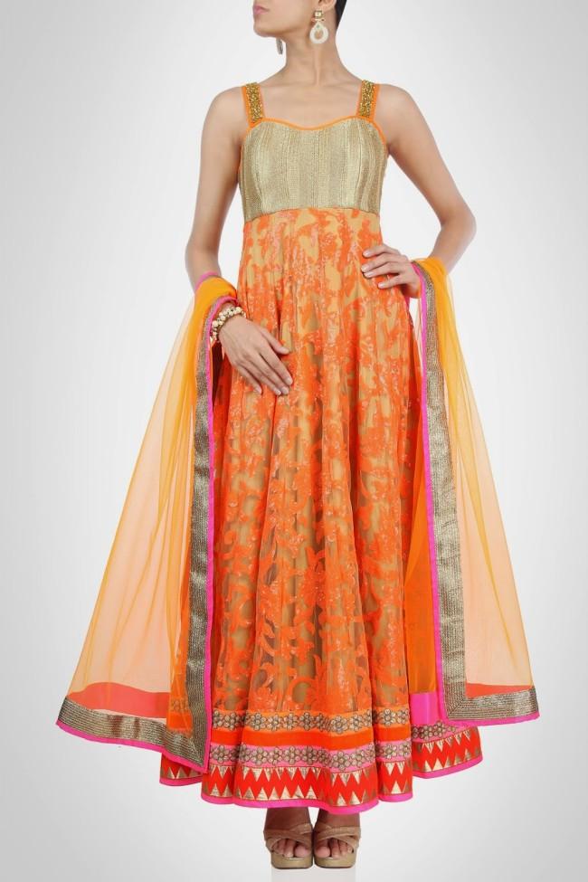 Indian-Fashion-Wedding-Bridal-Wear-Anarkali-Lehnga-Choli-Dress-by-Designer-Vandana-Sethi-4