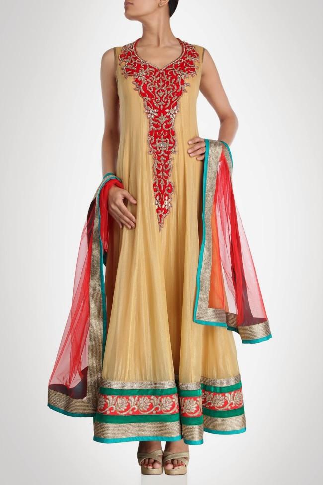 Indian-Fashion-Wedding-Bridal-Wear-Anarkali-Lehnga-Choli-Dress-by-Designer-Vandana-Sethi-6