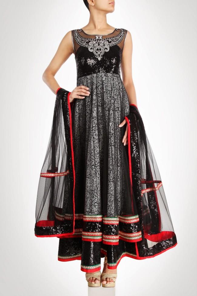 Indian-Fashion-Wedding-Bridal-Wear-Anarkali-Lehnga-Choli-Dress-by-Designer-Vandana-Sethi-7