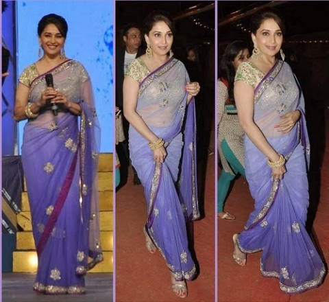 Madhuri-Dixit-Wear-Beautiful-Anarkali-Frock-Suits-and-Bollywood-New-Fashion-Sarees-Pics-4