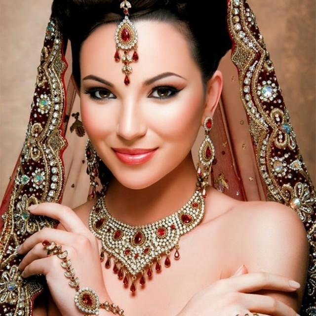 Indian Bridal Jewellery: Fashion Style & Glamour World: Kyles Wedding-Bridal