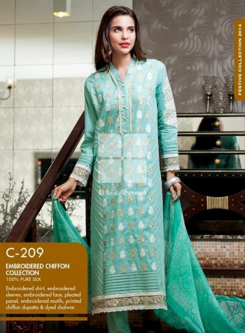 Beautiful-Girls-Women-Wear-New-Fashion-Outfits-Suits-Catalogue-by-Festive-Eid-Gul-Ahmed-11