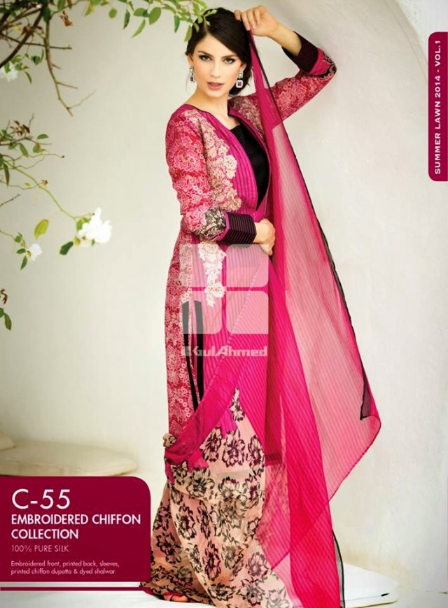 Beautiful-Girls-Women-Wear-New-Fashion-Outfits-Suits-Catalogue-by-Festive-Eid-Gul-Ahmed-2