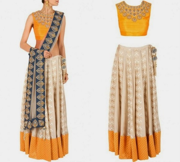 Womens-Girls-Wear-Beautiful-Style-New-Fashion-Party-Dress-by-Designer-Payal-Singhal-
