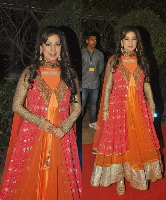 Indian-Bollywood-Celebrities-in-Designers-Anarkali-Frock-Saree-Suits-New-Fashion-Dress-1