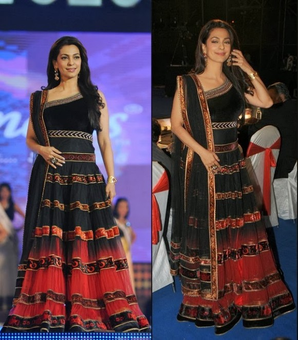 Indian-Bollywood-Celebrities-in-Designers-Anarkali-Frock-Saree-Suits-New-Fashion-Dress-4