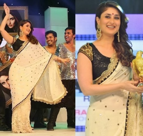 Bollywood-Indian-Celebrity-Kareena-Kapoor-in-Designers-Beautiful-Outfit-Dress-2