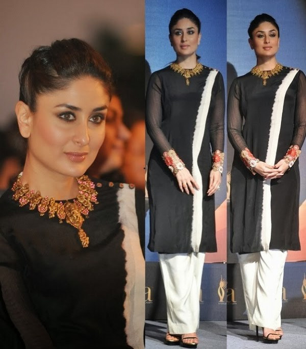 Bollywood-Indian-Celebrity-Kareena-Kapoor-in-Designers-Beautiful-Outfit-Dress-4