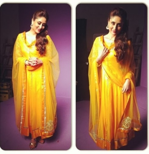 Bollywood-Indian-Celebrity-Kareena-Kapoor-in-Designers-Beautiful-Outfit-Dress-8