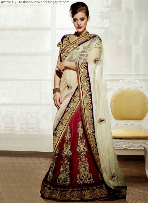 Bridal-Wedding-Lehengas-Choli-And-Sarees-Sari-Latest-Fashion-for-Girls-Womens-10