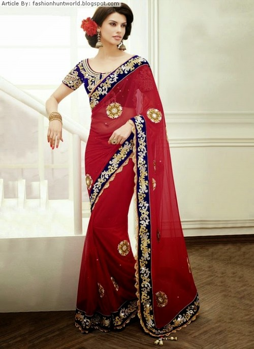Bridal-Wedding-Lehengas-Choli-And-Sarees-Sari-Latest-Fashion-for-Girls-Womens-11