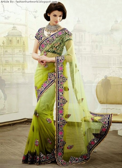 Bridal-Wedding-Lehengas-Choli-And-Sarees-Sari-Latest-Fashion-for-Girls-Womens-3