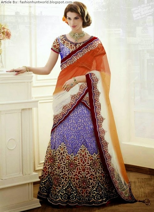 Bridal-Wedding-Lehengas-Choli-And-Sarees-Sari-Latest-Fashion-for-Girls-Womens-7