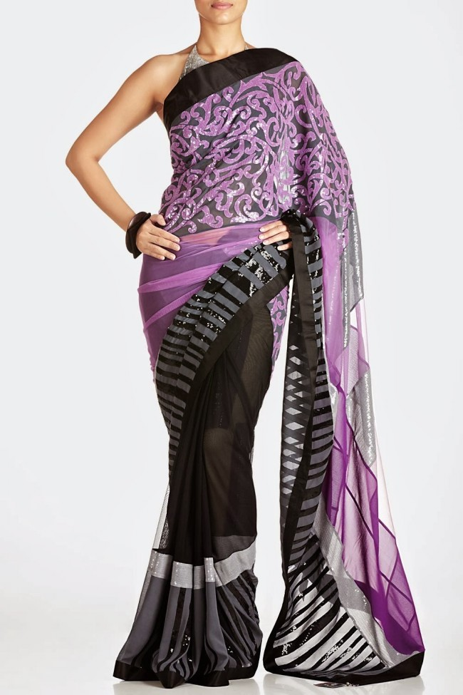 Fashion-Dress-Designer-Satyapaul-Embroidered-Sarees-Latest-Trend-for-Womens-Girls-12