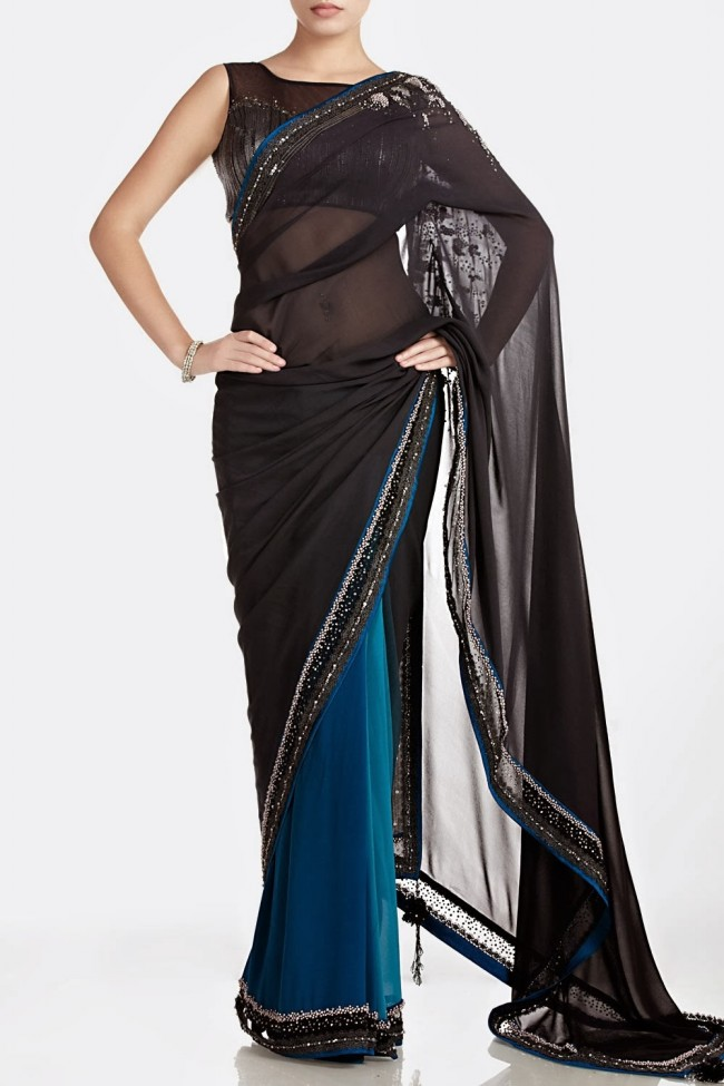 Fashion-Dress-Designer-Satyapaul-Embroidered-Sarees-Latest-Trend-for-Womens-Girls-9