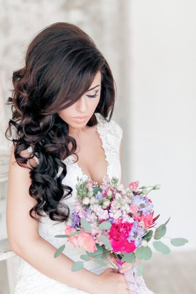 Fashion Amp Style Stylish Bridal Wedding Hairstyle 2014