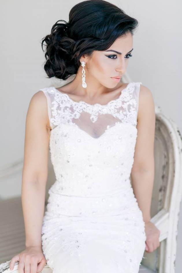 Hairstyle Wedding : Fashion & Style: Stylish Bridal-Wedding Hairstyle 2014-2015 for Brides ...