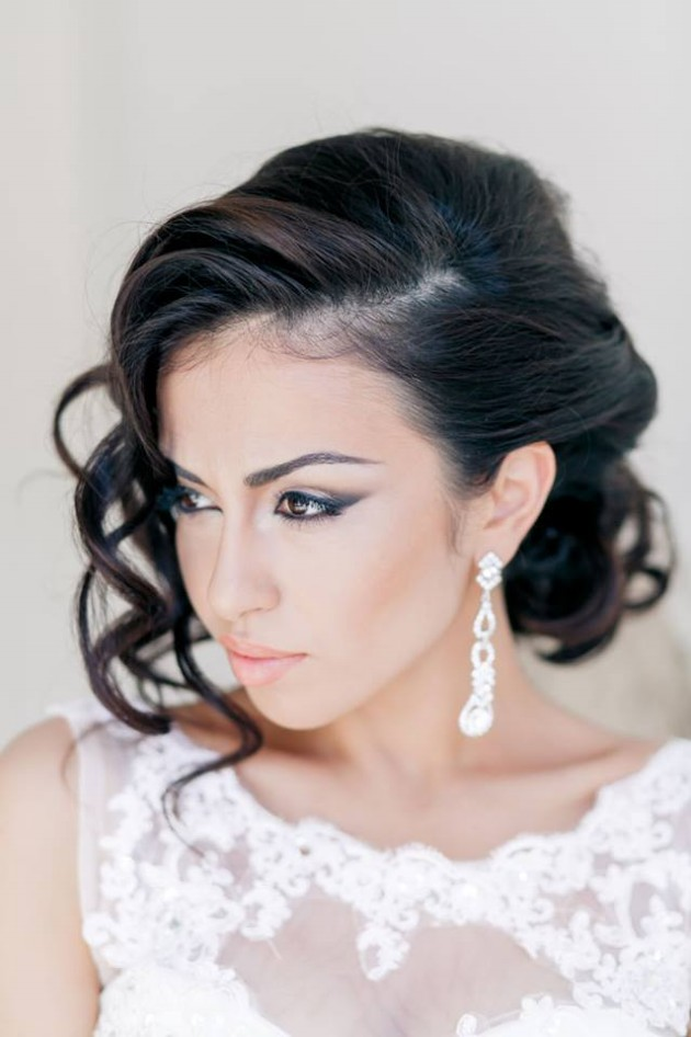Awesome Stylish Bridal Wedding Hairstyle 2014 2015 For Brides And Party Short Hairstyles Gunalazisus